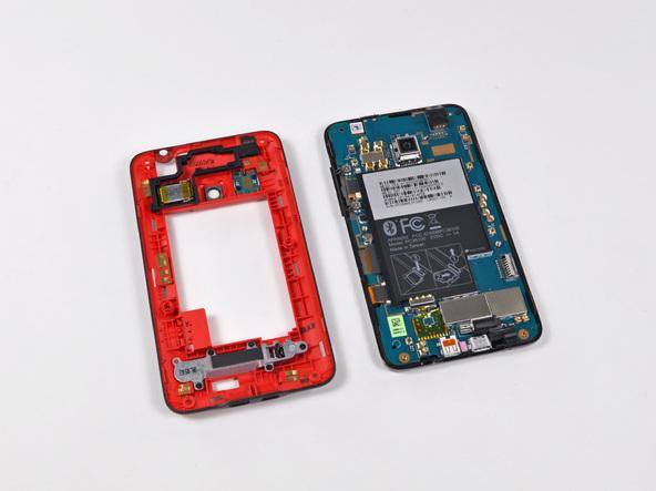Как разобрать телефон HTC Evo 4G (11)