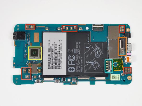 Как разобрать телефон HTC Evo 4G (25)