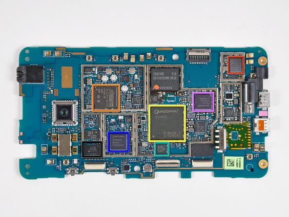 Как разобрать телефон HTC Evo 4G (27)