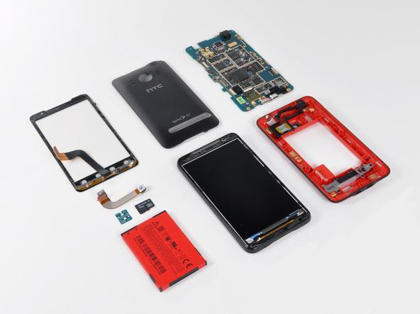 Как разобрать телефон HTC Evo 4G (29)