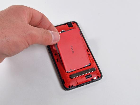 Как разобрать телефон HTC Evo 4G (5)