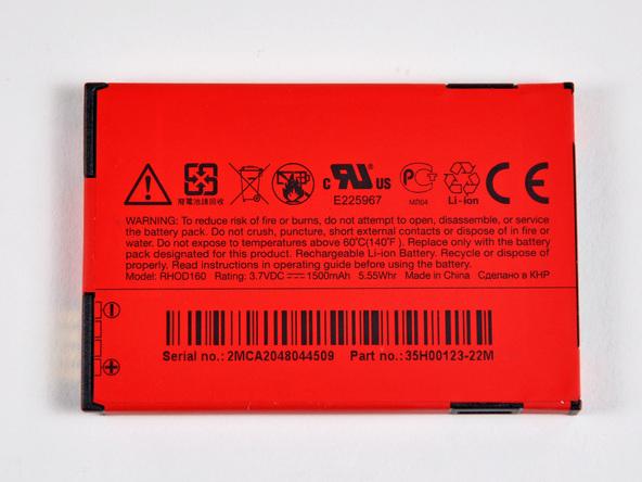 Как разобрать телефон HTC Evo 4G (6)