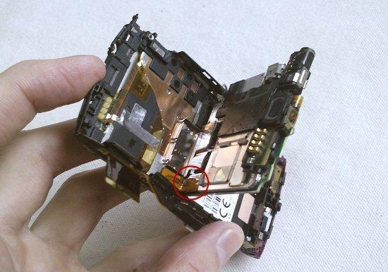 Как разобрать телефон Sony Ericsson Vivaz U5i (10)